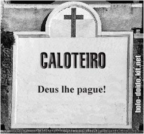 caloteiro